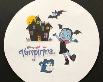 Precut Vampiria edible image for cakes, cupcakes and cookies