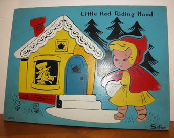 Little Red Riding Hood Wooden Puzzle