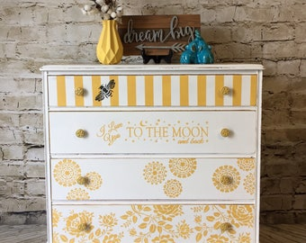 Delightful Vintage Dresser/ Changing Table