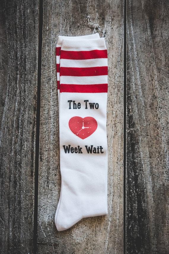 Two Week Wait Socks, TWW, IVF socks, IUI Socks infertility