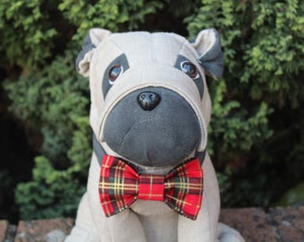 Rover's Red Tartan Bow tie