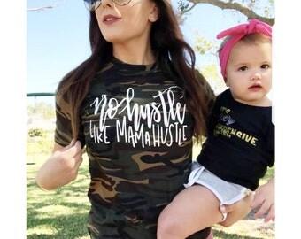 No Hustle Like Mama Hustle Shirt // Mom Shirt // Mom Life Shirt // Mother Hustle Shirt // Momlife Shirt // Funny Mom Shirt // Mom T-Shirt