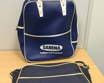 Vintage SABENA handbags 60s and 70s