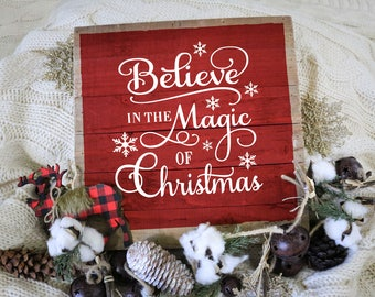 Christmas, SVG, PNG, EPS, & dxf, Christmas Decorations, Believe in the Magic of Christmas ,ornaments, Merry Christmas, Christmas Wishes