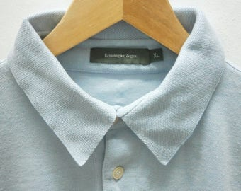 Fancy! Authentic ERMENEGILDO ZEGNA polo shirt size XL