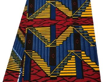 African Kente Print Whole 6 Yards/African Print fabric/African Ankara Print/Kente Cloth/ African Print
