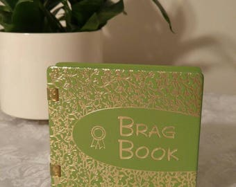 Vintage photo album ~ photo book ~ baby photo album ~ brag book ~ Vintage photos