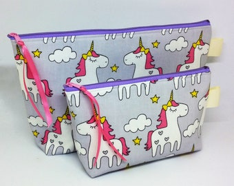 Princess Fluffy Butt Cosmetic / Makeup case Set