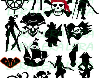 60 % OFF, Pirate SVG ,Pirates Silhouettes, Pirate Clipart, svg, dxf, eps, ai, png, Pirates svg, svg files Pirates, Vector cutting files SVG
