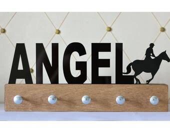 Personalized Equestrian Medal Holder,Medal Display,Equestrian Medal Holder,Sport Gift,Sport Medal Hanger,Medal Organizer, Horse riding