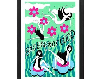 BADBADNOTGOOD - Giclee Print