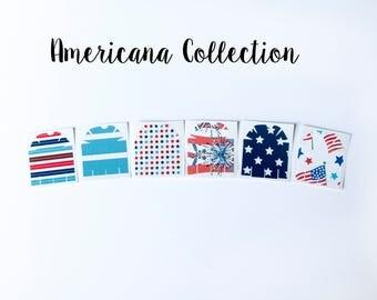 Omnipod Pod Skin - Americana Collection