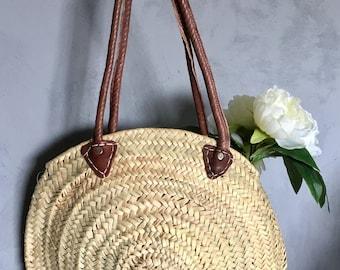 Bag / Beach basket round