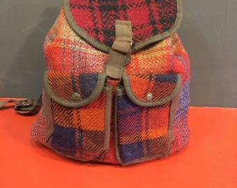 Backpack bag Vintage Kilim Persian Gashgai