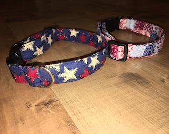 July 4th Dog collars