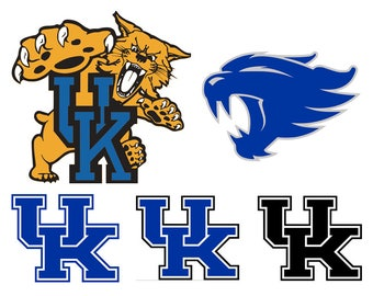 Kentucky wildcats svg, university of kentucky svg, uk svg, svg, dxf, cricut, silhouette cutting file, instant download, svg files