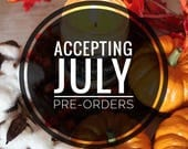 PRE-ORDER July 2018: The Sorting - hand poured soy candle - 9oz glass jar