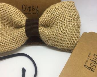 vintage bow tie bows, bow ties, jute, gentlemen style, men, bow tie man, accessories, handmade, personalized