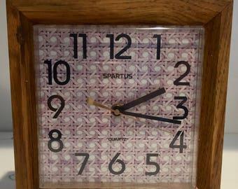 Mid Century Spartus Wall Clock