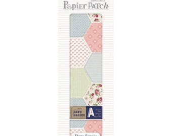 3 sheets paper decopatch 26 x 37.5 cm PAPERMANIA PATCHWORK