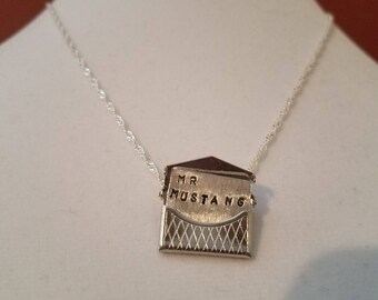 Fullmetal Alchemist-inspired Riza Hawkeye and Roy Mustang Ishval Letter Necklace