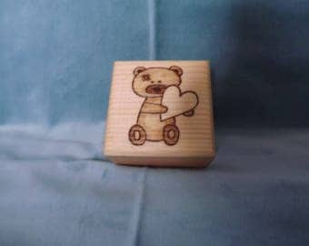 Small Teddy Box