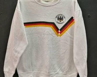 vintage sweatshirt DEUTSCHLAND GERMANY