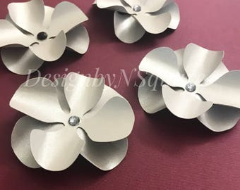 Hydrangea Paper Flower template/ paper flower template / Flower decor