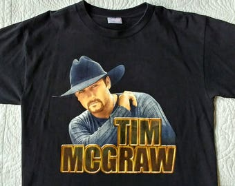 Vintage Tim McGraw Concert Shirt - Large - Great condition
