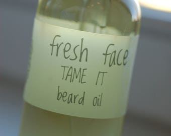 fresh face TAME IT beard oil 1oz