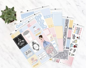 AMELIA Relax | Vertical Weekly Kit | Matte | made to fit ECLP vertical | a la carte