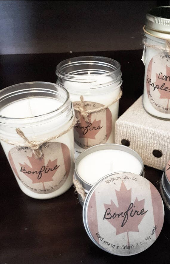 Canada 150 Soy Candles by NorthernLitesCo