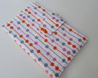 Nappy Wallet - Pink Orange Spots