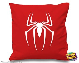 Spider Man Cushion/Pillow Cover White  - Peter Park - Tobey Maguire - Kirsten Dunst -  Mary Jane Watson
