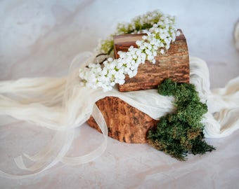 Adult Size Baby's Breath Crown