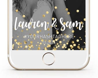Custom Wedding Snapchat Filter