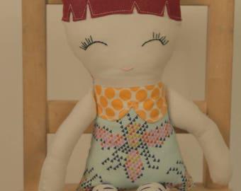 Darling Dress Rag Doll
