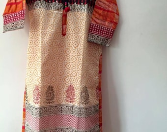 Indian Bollywood Kurti Kurta Tunic Top