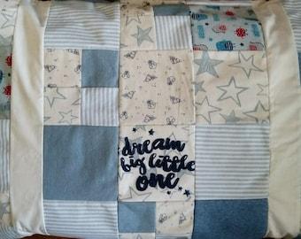 Pillowcase Keepsake - Double-sided - Baby clothes keepsake, quilted pillowcase, quilted pillow, remembrance pillow, Keepsake Pillow