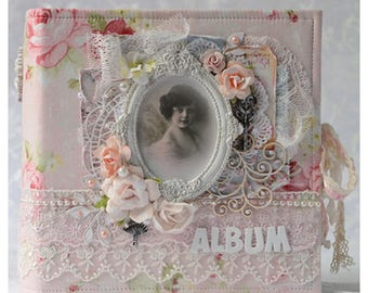 Handmade album for her, Wedding album