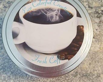 Fresh Coffee Soy Candle 8 oz