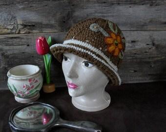 Vintage hat for adult