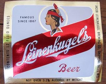Beer Labels - Leinenkugel's Original (Retro Branding)