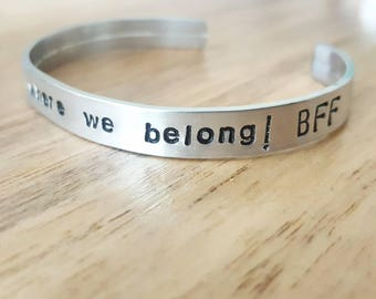 Low Bangle with engraved