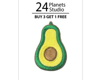 Avocado Iron on Patch by 24PlanetsStudio