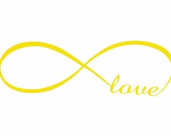 Infinity Love Decal