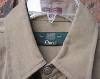 Orvis Field Shirt- Medium