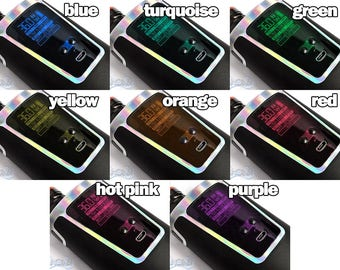 Vape Screen Tint Translucent Underlays for Ecig Smok G150 150W Screen Protectors