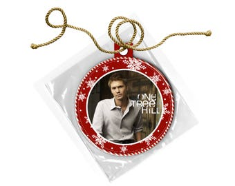 One Tree Hill Lucas Scott Chad Michael Murray  Christmas Ornament