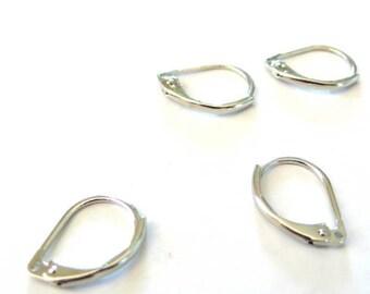 10 sleepers earrings nickel/Platinum color